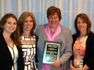 Cathy's award